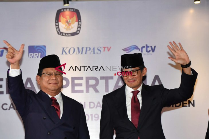 Subianto-Uno pair pledges to strengthen regions` tourism sector