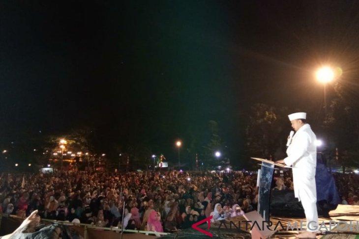 Warga Bogor ikuti Doa Bersama menyambut tahun baru
