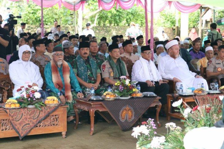 Panglim TNI dan Kapolrdi Doa Bersama Untuk Korban Tsunami Selat Sunda