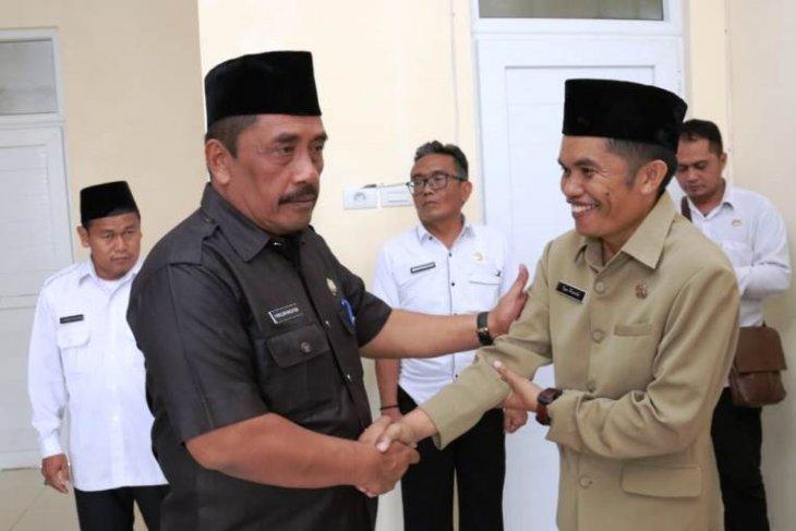 Lima pejabat Tapsel dilantik