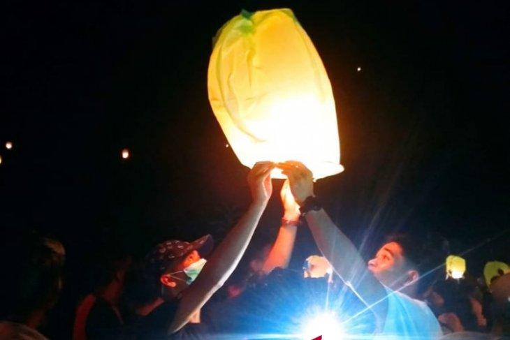 Doa Bersama Warnai Malam Tahun Baru Di Penajam