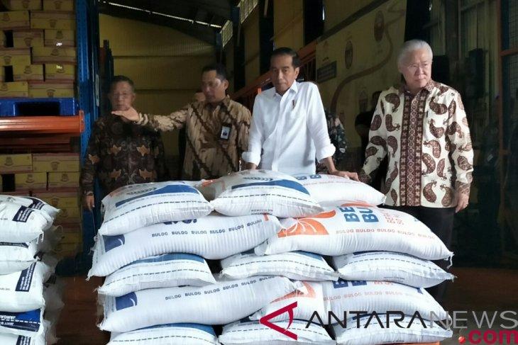 Rice stock adequate: President Jokowi