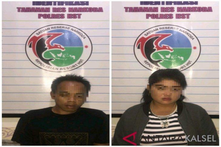 Polres HST tangkap dua pengedar sabu-sabu
