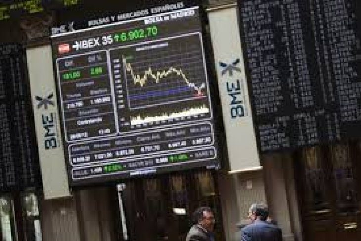 Saham Spanyol berakhir anjlok, Indeks DAX 30  terjungkal 1,26 persen