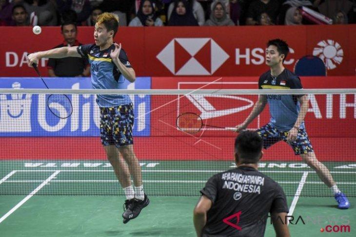 Kevin/Marcus kembali hadapi rekan senegara di perempat final Indonesia Masters