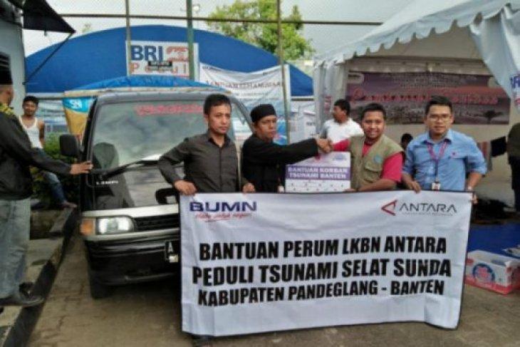 BUMN Hadir Untuk Negeri, ANTARA kirimkan bantuan korban tsunami Selat Sunda