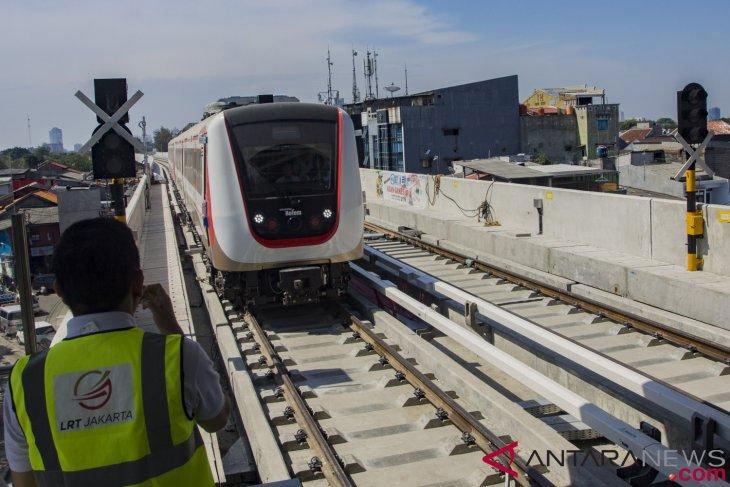 Tarif awal LRT Bekasi-Jakarta dipatok Rp12 ribu