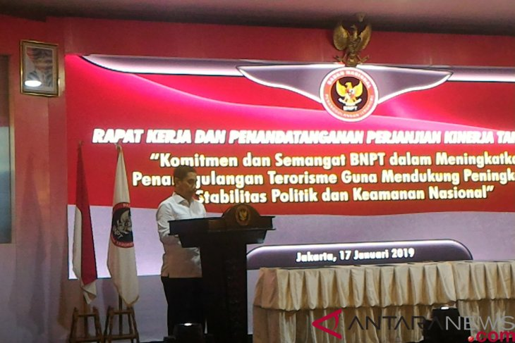 Presidential Debate - BNPT gives inputs to Jokowi on handling of terrorism