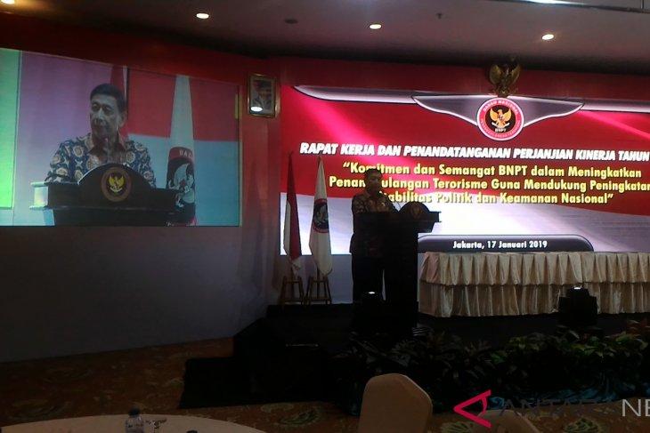 Indonesia`s counterterrorism agency cannot work alone: Wiranto