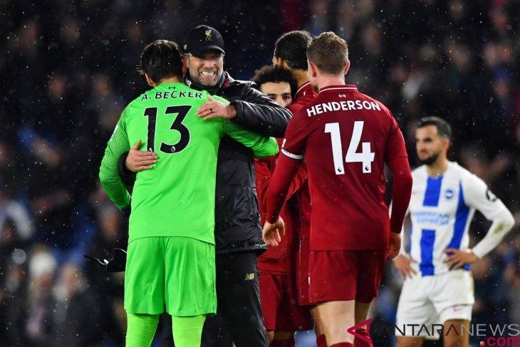 Hasil dan klasemen Liga Inggris, Liverpool jaga jarak keunggulan