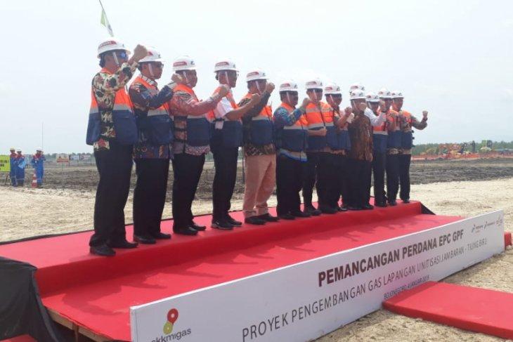 PEPC Lakukan Pemancangan Perdana Pengembangan Gas JTB