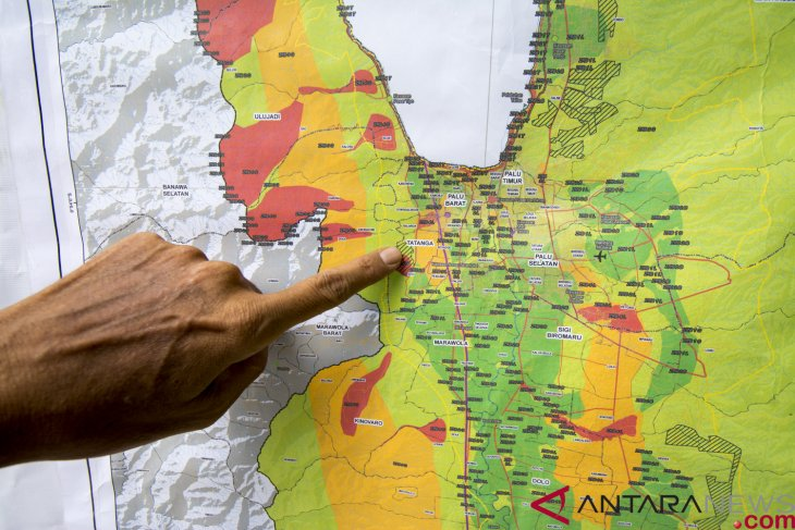 Gempa 5,8 magnitudo guncang Sigi-Palu, tidak berpotensi tsunami
