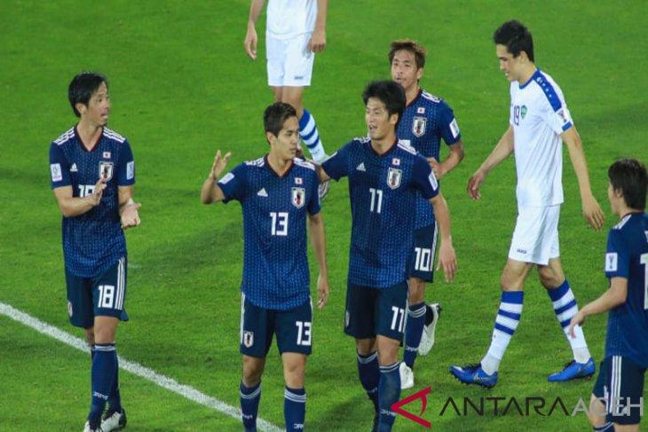 Tundukkan Uzbekistan, Jepang amankan posisi juara grup F