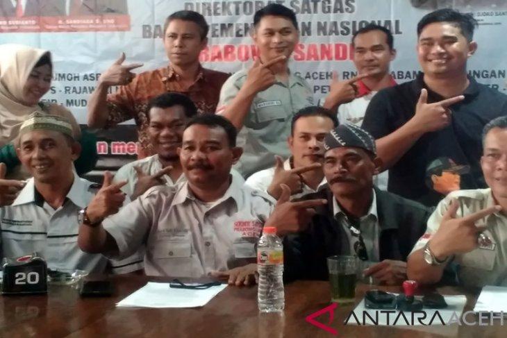 Puluhan ormas kawal suara Prabowo-Sandi di Aceh