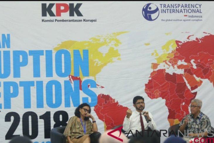 KPK ungkap rendah kepercayaan masyarakat pada aparat hukum