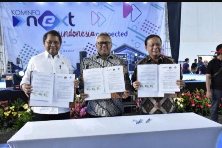 Kominfo gandeng Bawaslu-KPU lawan hoax jelang Pemilu