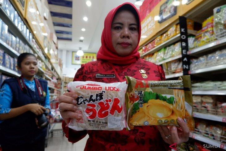 Saat sidak, petugas pangan di Medan temukan ini