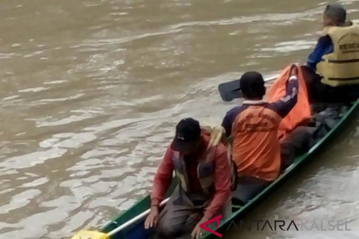 Nenek korban tenggelam Sungai Amandit ditemukan meninggal dunia