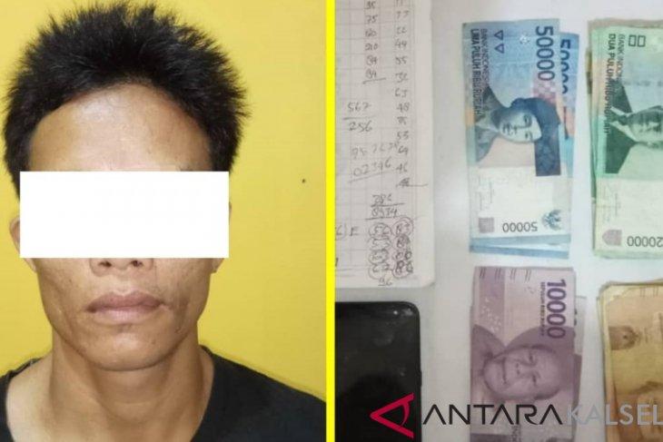 Polsek Daha Selatan tangkap pelaku judi togel