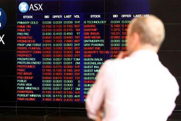 Bursa saham Australia menguat