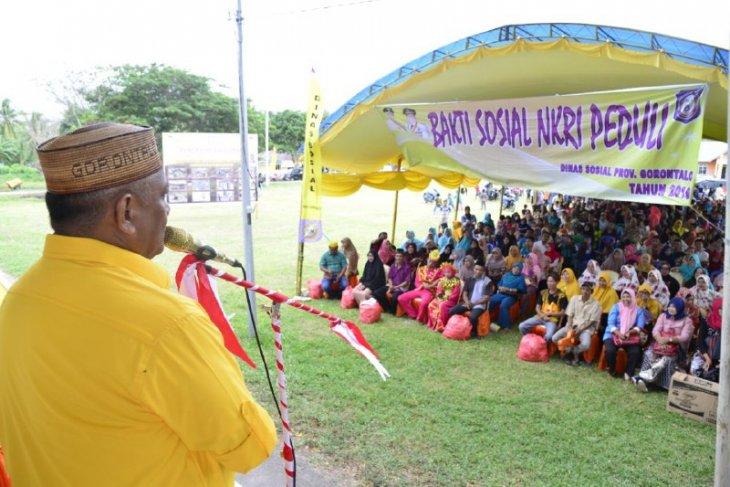 Pemprov Gelar Bakti Sosial di Popayato Barat