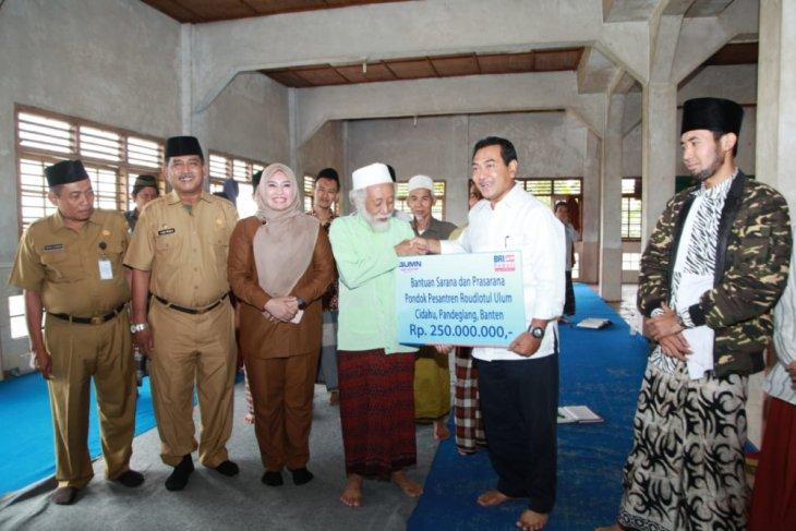BRI Salurkan Dana CSR Untuk Ponpes di Kabupaten Pandeglang