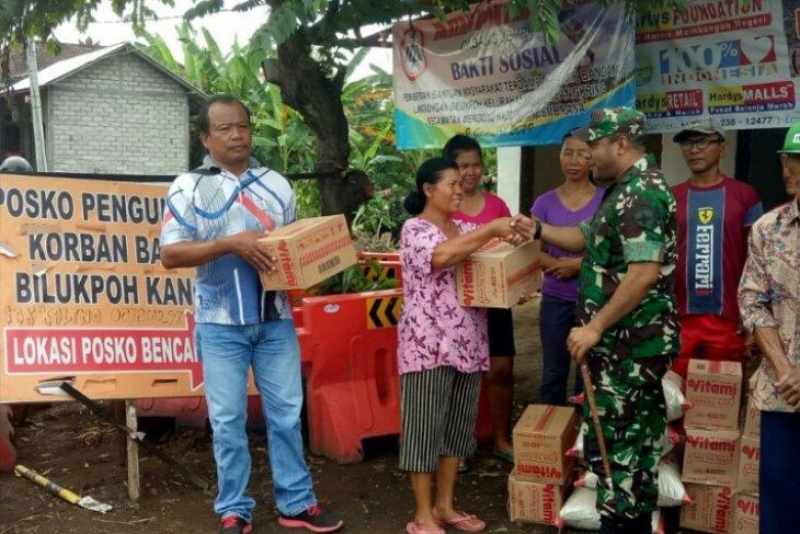 Kodim Jembrana kembali bantu korban banjir bandang Mendoyo
