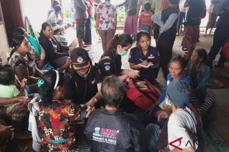 BPBD Bali beri pelayanan medis korban longsor di Buleleng