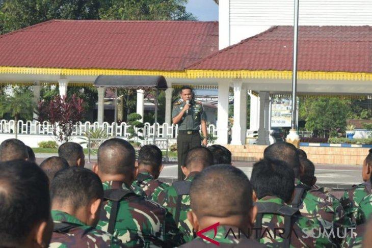 Dandim 0204/DS tegaskan netralitas TNI pada Pemilu 2019