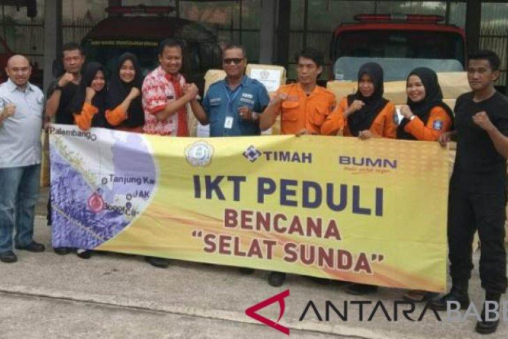 Ikatan Karyawan Timah bantu korban tsunami Selat Sunda