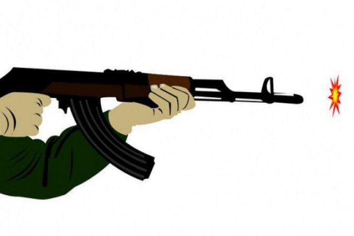 Satgas Tinombala olah TKP dalam kasus penembakan dua warga di Poso