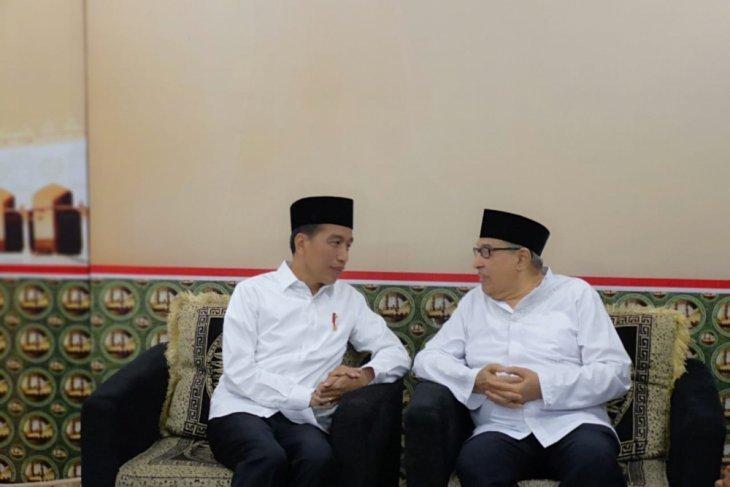Jokowi bertemu Quraish Shihab