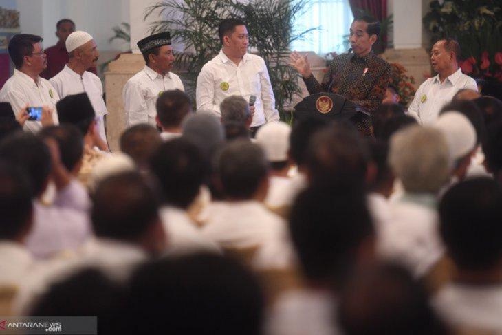 Presiden dengarkan keluhan petani gula di Istana