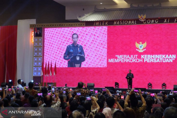 Jokowi attends 2019 national Chinese New Year celebration