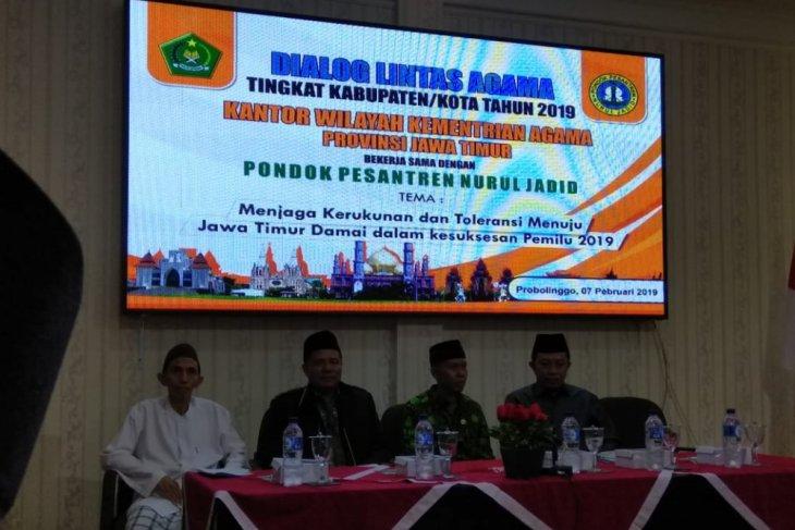 Ponpes Nurul Jadid Tuan Rumah Deklarasi Pilpres Damai