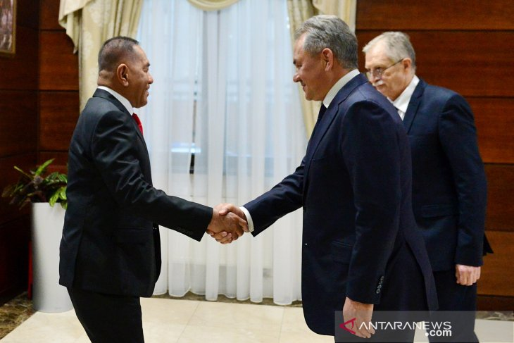Indonesian, Russian ministers meet to strengthen defense relations