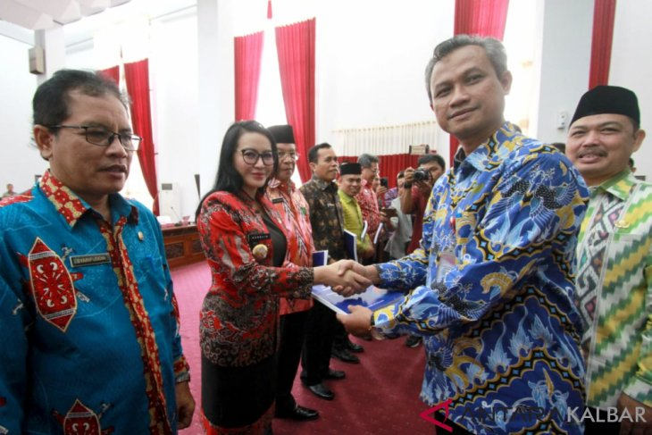 UPP Saber Pungli Landak peringkat pertama penilaian Ombudsman