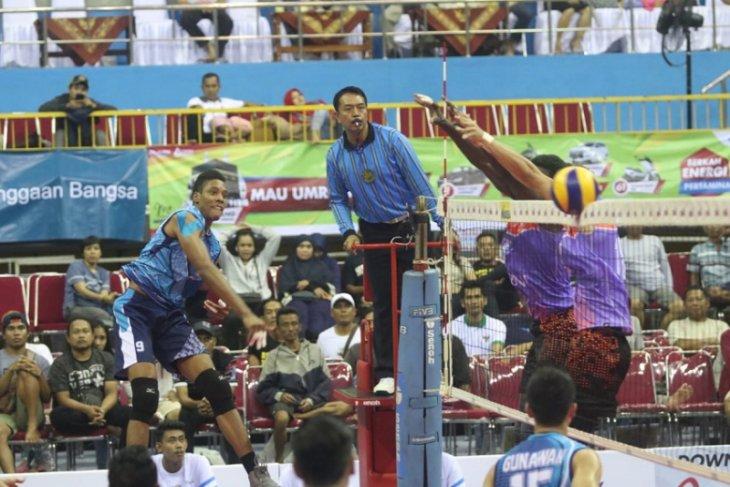 Putra BNI 36 Sapu Bersih Laga Final Four di Kediri