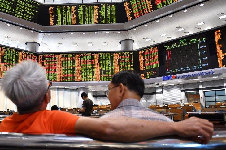 Pasar saham Malaysia ditutup  lebih rendah