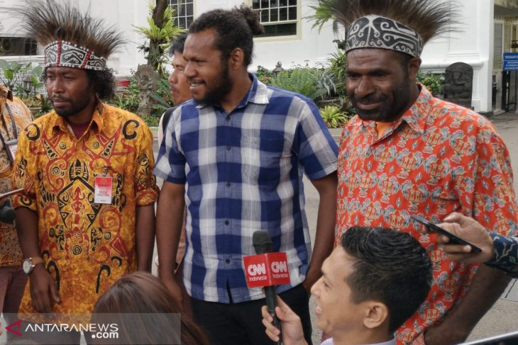 Jokowi receives laid-off employees of Freeport Indonesia