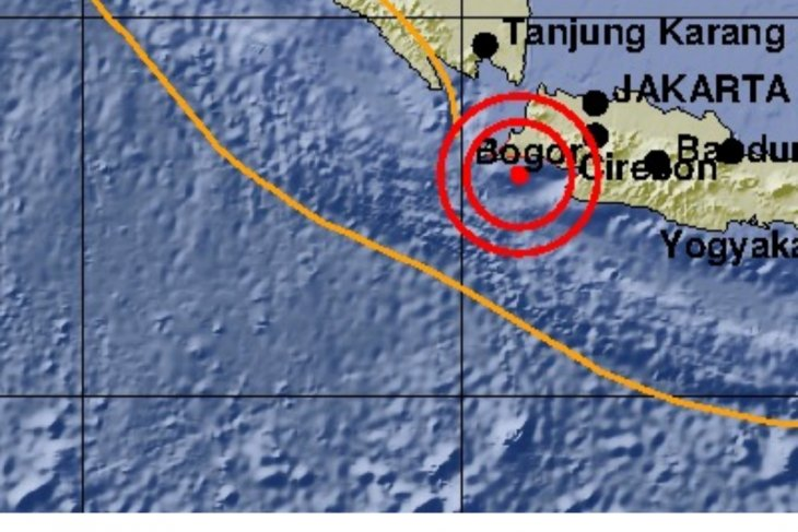 Banten`s earthquake is not destructive: government