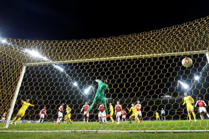 BATE bungkam Arsenal 1-0 di Liga Europa