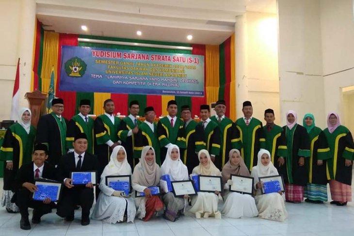 Fakultas Dakwah Uin Ar Raniry Yudisium 277 Mahasiswa Antara News Aceh