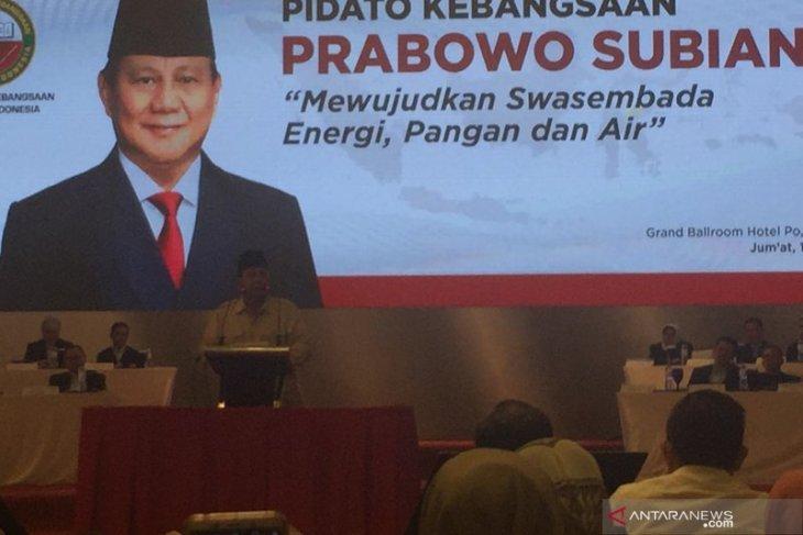 Prabowo Subianto perkenalkan puluhan pakar untuk Indonesia Menang