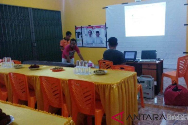 Hanura Bangka Selatan gelar nobar debat capres bersama masyarakat