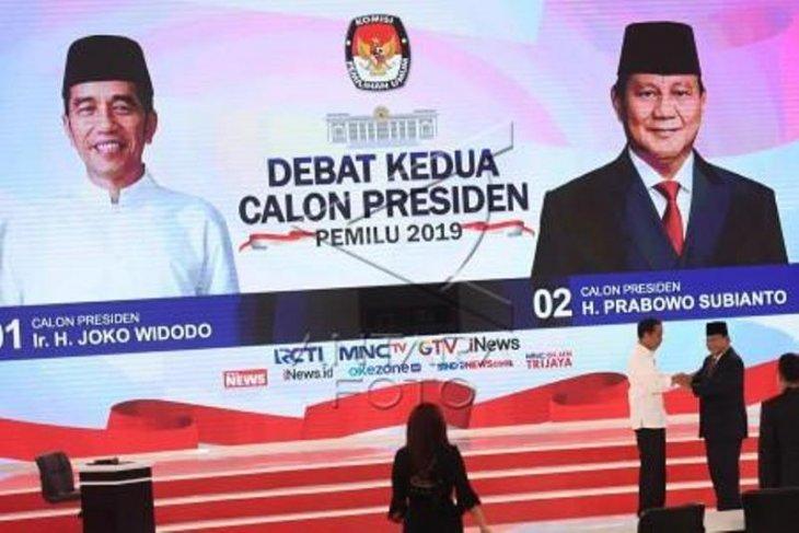 TKN-BPN saling klaim kemenangan di debat kedua