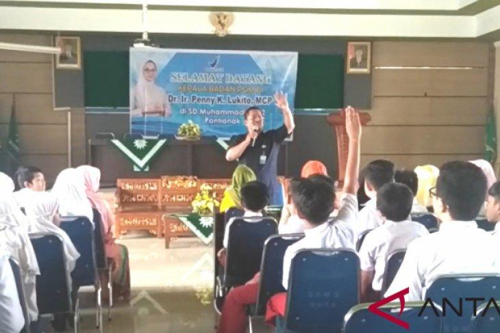 BPOM beri pemahaman makanan sehat kepada siswa SD Muhammadiyah 2 Pontianak