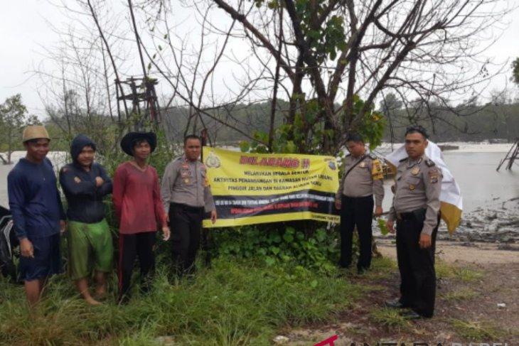 Polisi Bangka Barat cegah tambang liar di Desa Rambat