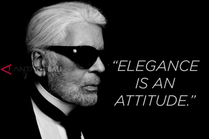 Legenda mode Karl Lagerfeld tutup usia
