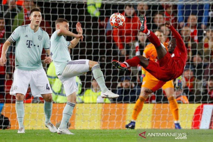 Leg pertama, Bayern vs Liverpool tanpa gol di Anfield